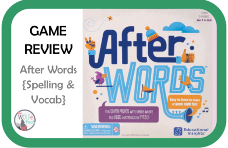 GAME REVIEW: After Words {Spelling and Vocabulary}