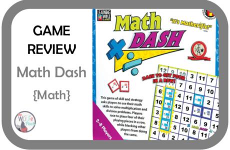GAME REVIEW: Math Dash {Math}