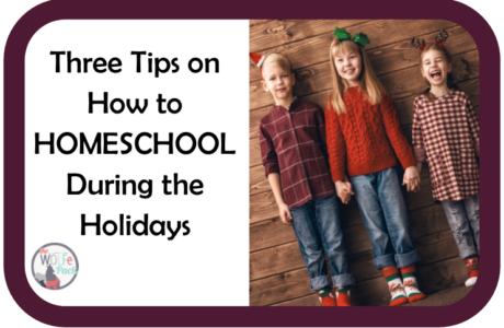 Three Tips on How to Homeschool During the Holidays