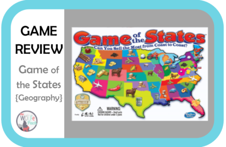 Game Review: GAME of the STATES {Geography}