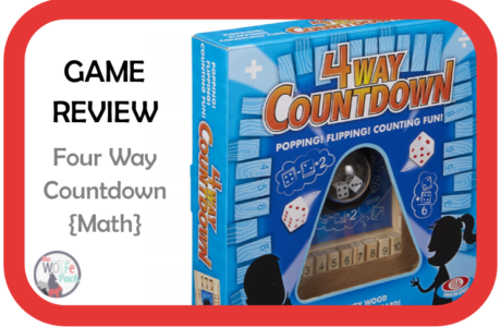 Game Review: FOUR WAY COUNTDOWN {Math}