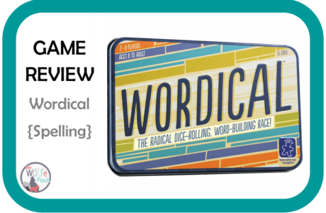Game Review: WORDICAL {Spelling}