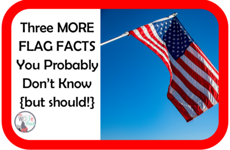 Three More FLAG FACTS You Probably Don't Know {but should!}