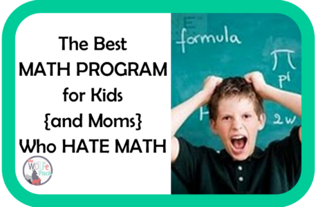 The Best MATH PROGRAM for Kids {and Moms} Who HATE MATH