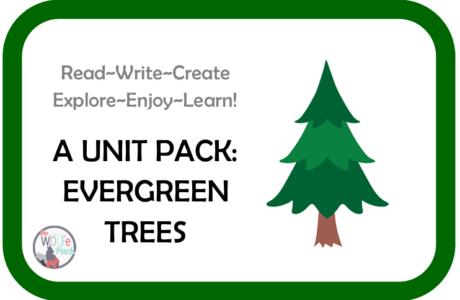 Evergreen Trees: A UNIT STUDY Read~Write~Create~Explore~Enjoy~Learn!