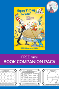 Happy Pi Day to You mini Book Companion Pack