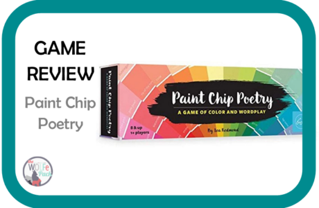Game Review: PAINT CHIP POETRY {Poetry}