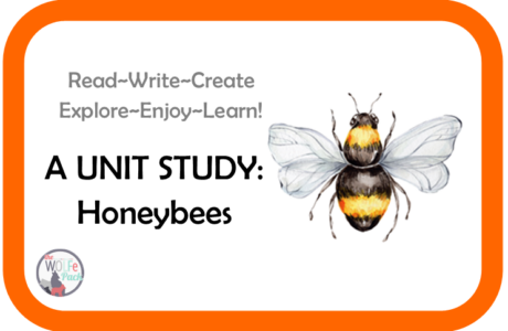 Honeybees: A UNIT STUDY Read~Write~Create~Explore~Enjoy~Learn