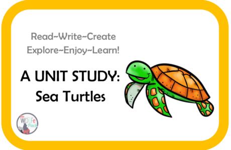 Sea Turtles: A UNIT STUDY Read~Write~Create~Explore~Enjoy~Learn