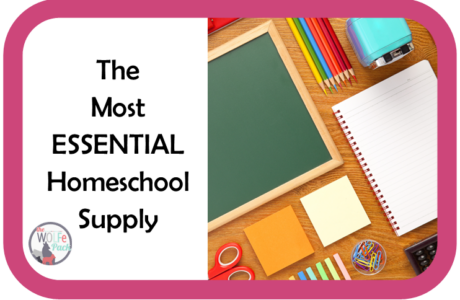 The Most Essential Homeschool Supply