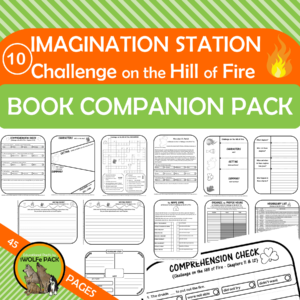 Challenge on the Hill of Fire Cover 1